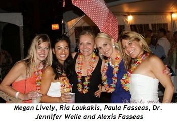 Blog 1 - Megan Lively, Ria Loukakis, Paula Fasseas, Dr. Jennifer Welle and Alexis Fasseas