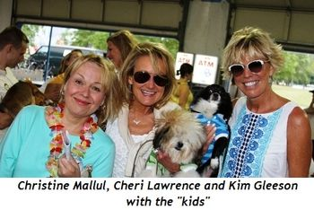 "Blog 7 - Christine Mallul, Cheri Lawrence and Kim Gleeson with the ""kids"""