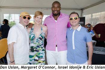 Blog 2 - Dan, Margaret O'Connor, Israel Idonije and Eric Uslan