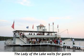 Blog 4 - The Lady of the Lake waits for guests