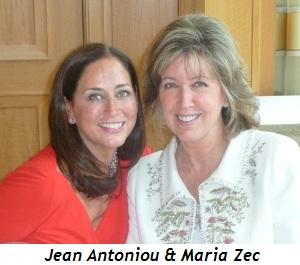 Blog 5 - Co-chair Jean Antoniou and the Peninsula GM Maria Zec