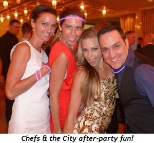 Blog 5 - Chefs & the City after-party fun!