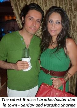 Blog 7 - The cutest & nicest brother-sister duo in town, Sanjay and Natasha Sharma
