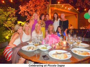 Blog 4 - Celebrating at Piccolo Sogno