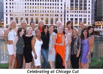 Blog 7 - Celebrating at Chicago Cut