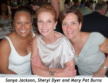 Blog 8 - Sonya Jackson, Sheryl Dyer and Mary Pat Burns at Chicago Cut