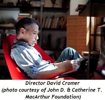Blog 2 - Director David Cromer (photo courtesy of John D. & Catherine T. MacArthur Foundation)