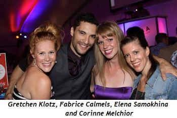Blog 8 - Gretchen Klotz, Fabrice Calmels, Elena Samokhina and Corinne Melchior