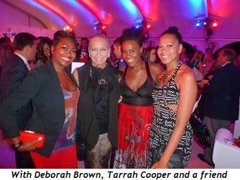 Blog 14 - With Deborah Brown, Tarrah Cooper and friend