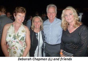 Blog 5 - Deborah Chapman (L) and friends