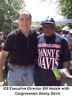 Blog 1 - ICB Executive Director Bill Natale and Congressman Danny Davis