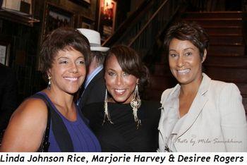 Blog 3 - Linda Johnson Rice, Marjorie Harvey and Desiree Rogers