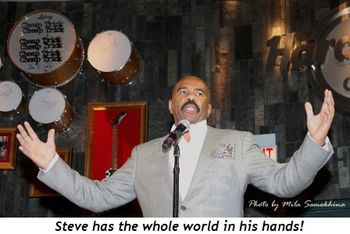 Blog 12 - Steve has the whole world in his hands!