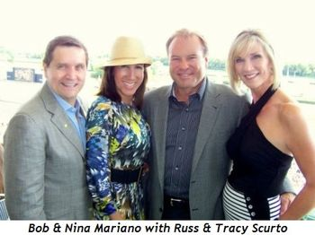 Blog 2 - Bob and Nina Mariano with Russ and Tracy Scurto