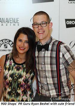 Blog 17 - 900 Shops' PR Guru Ryan Beshel with cute friend