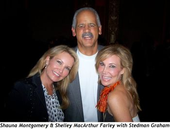 Blog 7 - Shauna Montgomery and Shelley MacArthur Farley with Stedman Graham