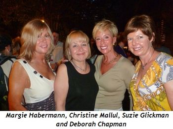 Blog 4 - Margie Habermann, Christine Mallul, Suzie Glickman and Deborah Chapman