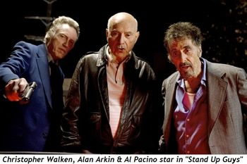 Blog 1 - Christopher Walken, Alan Arkin and Al Pacino star in Stand Up Guys