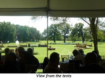 Blog 2 - View from the tents