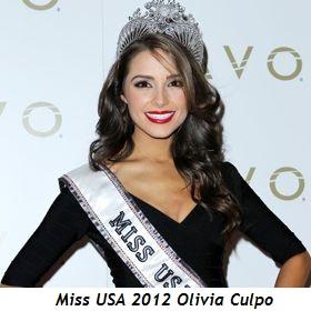 Olivia Culpo--Miss USA 2012