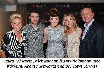 Blog 2 - Laura Schwartz, Nick Noonan, Amy Heidemann, Andrea Schwartz, Dr. Steve Stryker