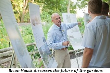 Blog 3 - Houck discusses the future of the gardens