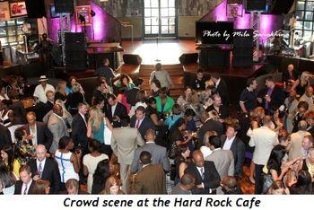 Blog 9 - Crowd scene at Hard Rock Café