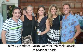 Blog 3 - With Eric Himel, Sarah Burrows, Victoria Malkin and Graham Kostic