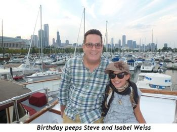 Blog 2 - Birthday peeps—Steve and Isabel Weiss