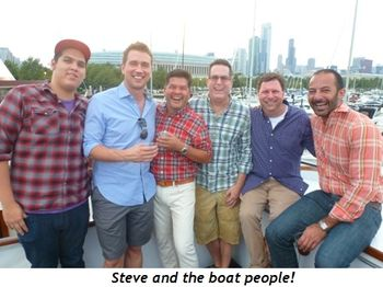 Blog 6 - Steve and the boat people!