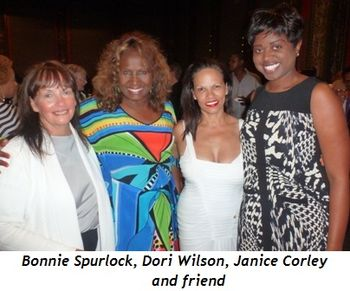 Blog 15 - Bonnie Spurlock, Dori Wilson, Janice Corley and friend