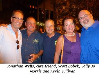 Blog 6 - Jonathan Wells, cute friend, Scott Bobek, Sally Jo Morris and Kevin Sullivan