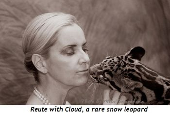 Blog 4 - Reute and Cloud, a rare snow leopard
