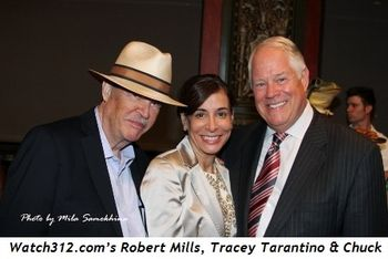 Blog 12 - Robert Mills, Tracey Tarantino and my Chuck