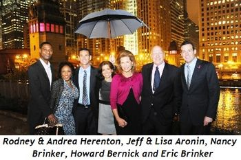 Blog 4 - Rodney & Andrea Herenton, Jeff and Lisa Aronin, Nancy Brinker, Howard Bernick and Eric Brinker