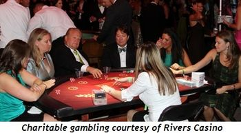 Blog 20 - Charitable gambling courtesy of Rivers Casino