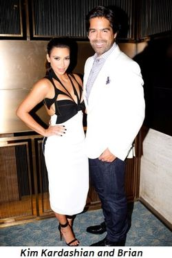 Blog 3 - Kim Kardashian with Brian Atwood