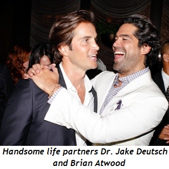 Blog 4 - Handsome life partners Dr. Jake Deutsch and Brian