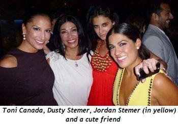 Blog 5 - Toni Canada, Dusty Stemer, cute friend and Jordan Stemer