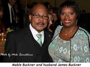Mable Buckner and husband James Buckner