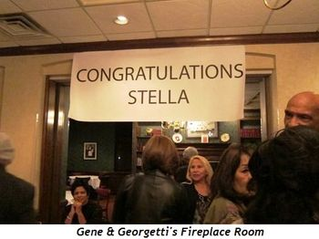 Blog 4 - Gene & Georgetti's Fireplace Room