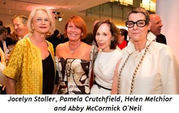 Blog 3 - Jocelyn Stoller, Pamela Crutchfield (Honoree), Helen Melchior, Abby McCormick O'Neil