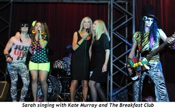Blog 1 - Sarah singing with Kate Murray