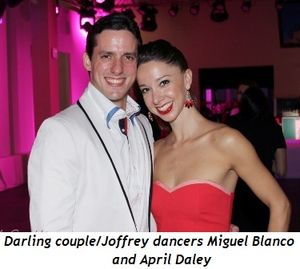 Blog 16 - Darling couple-Joffrey dancers Miguel Blanco and April Daley
