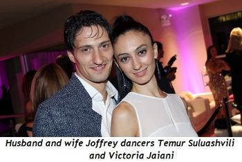 Blog 17 - Husband-wife Joffrey dancers Temur Suluashvili and Victoria Jaiani