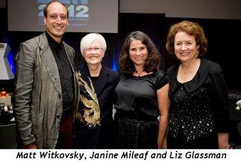Blog 9 - Matt Witkovsky, Susanne Ghez,  Janine Mileaf, Liz Glassman