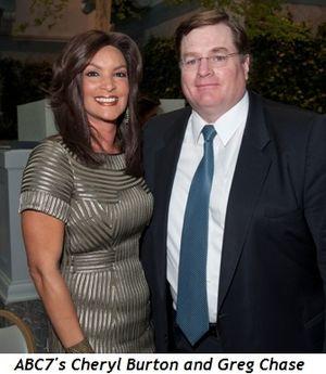 Blog 8 - ABC 7's Cheryl Burton and Greg Case