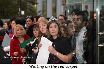 Blog 3 - Waiting on the red carpet