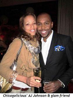 Blog 1 - Chicagolicious' AJ Johnson and glam friend