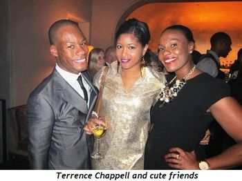 Blog 7 - Terrence Chappell and cute friends